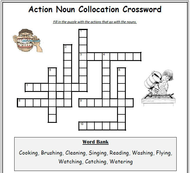 Cross Word |englishforlearning.wordpress.com